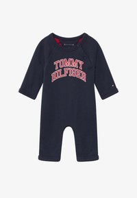 Tommy Hilfiger - BABY COVERALL - Mono - blue - 2