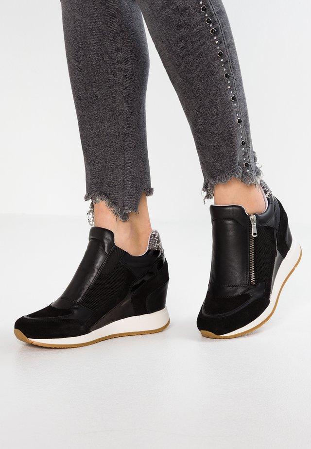 NYDAME - Zapatillas altas - black