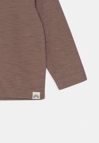 Lindex - SLUB UNISEX - Cardigan - brown - 2