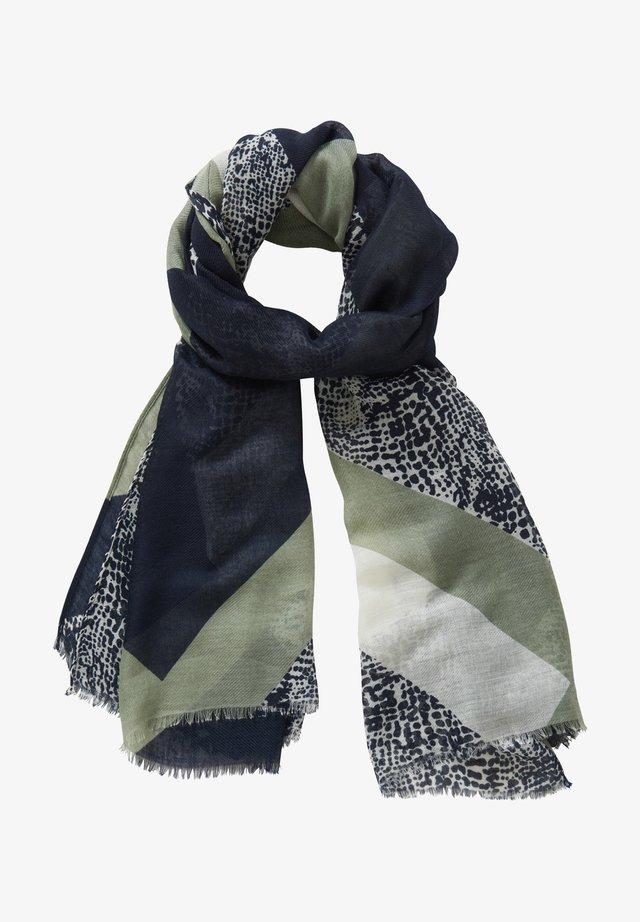 Scarf - dark blue/green