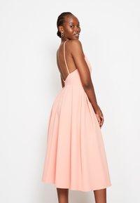 True Violet - STRAPPY SKATER - Cocktail dress / Party dress - coral - 2
