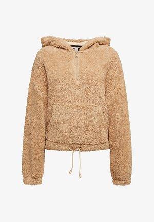 Fleece jumper - beige