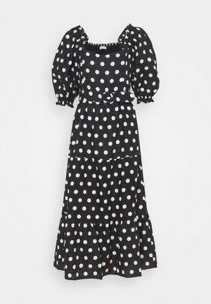 RUMI MIDI DRESS - Sukienka letnia - black