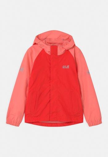 TUCAN UNISEX - Outdoor jacket - tulip red