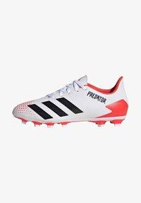 adidas Performance - PREDATOR 20.4 FXG - Moulded stud football boots - ftwwht/cblack/pop - 2