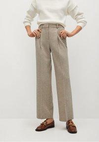Mango - FIVE - Trousers - beige - 0