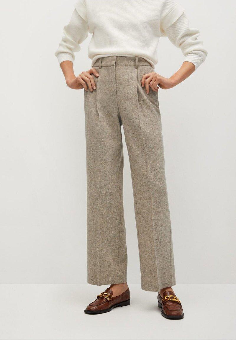 Mango - FIVE - Trousers - beige