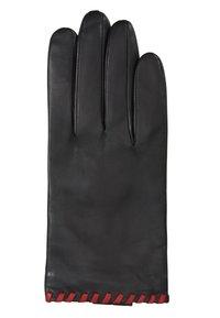 Otto Kessler - BELLA - Gloves - black/crimson - 1