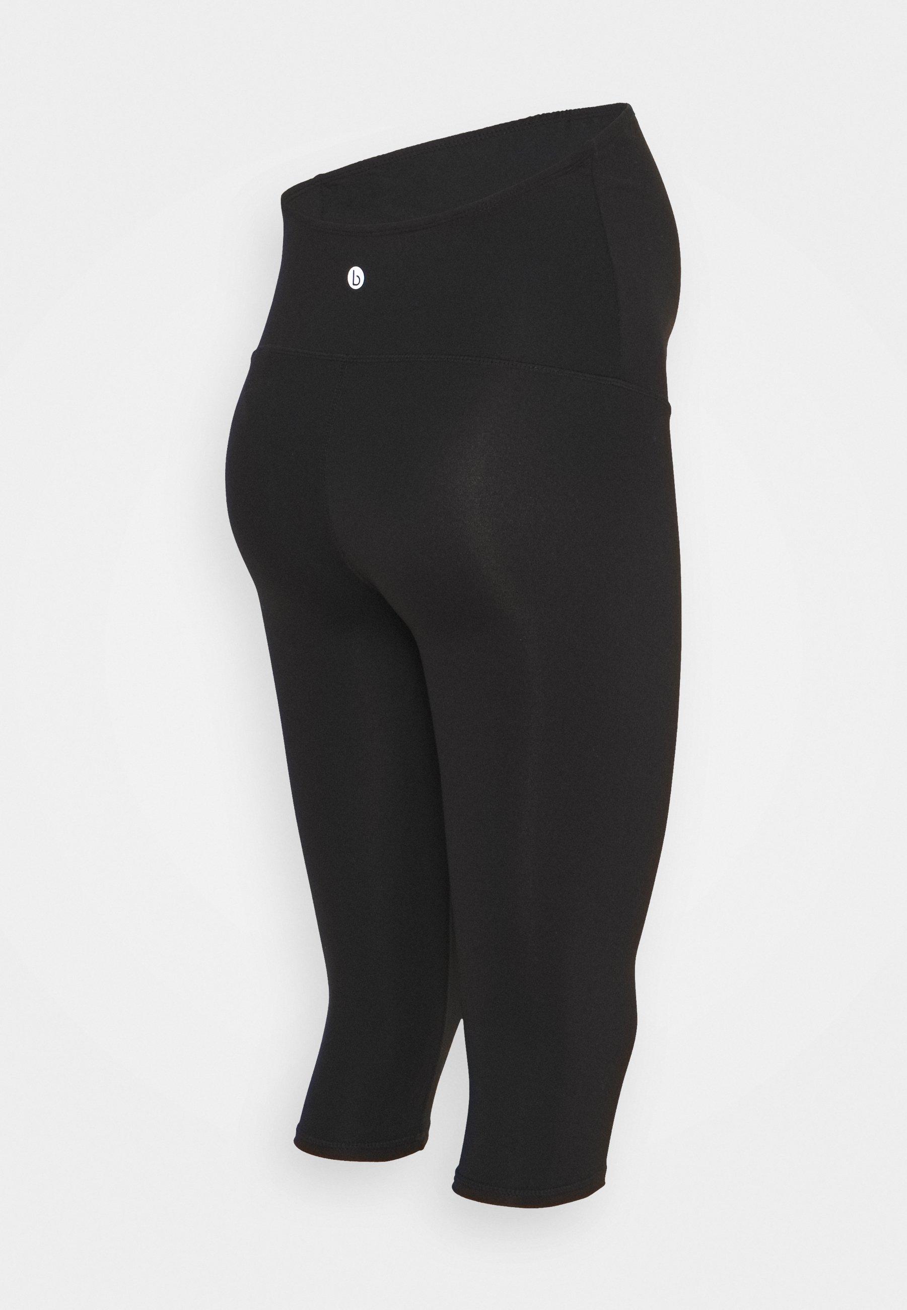 Damen CORE CAPRI OVER BELLY TIGHT - 3/4 Sporthose