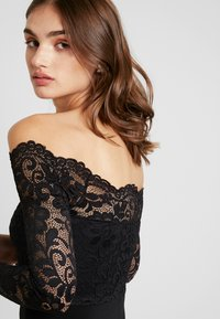 Nly by Nelly - OFF SHOULDER - Jumpsuit - black - 4