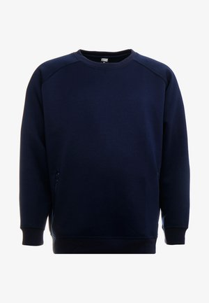 ZIP POCKET CREW PLUS SIZE - Sweatshirt - midnight navy
