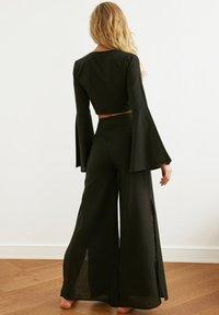 Trendyol - PARENT - Trousers - black - 2
