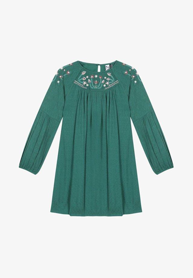FANCY - Korte jurk - dark green