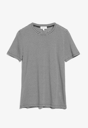LIDIAA - Print T-shirt - black-oatmilk