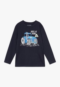 Blue Seven - KIDS TRACTOR - Long sleeved top - nachtblau original - 0