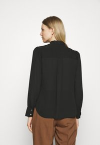 Marks & Spencer London - BLOUSE - Button-down blouse - black - 2