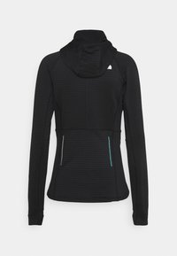 The North Face - CIRCADIAN MIDLAYER HOODIE  - Fleece jacket - black - 1