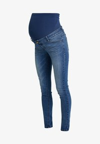 Forever Fit - EXCLUSIVE  - Vaqueros pitillo - mid blue washed - 4