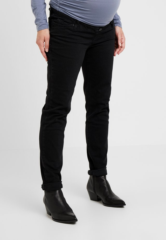 BOYFRIEND - Jeans slim fit - black