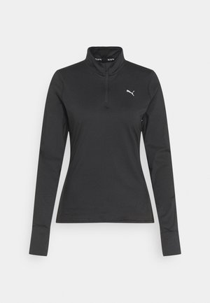 RUN FAVORITE  - Sports shirt - puma black
