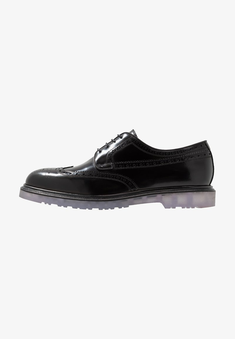 Paul Smith - MENS SHOE CRISPIN - Veterschoenen - black