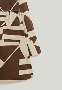 Massimo Dutti - Button-down blouse - brown - 3