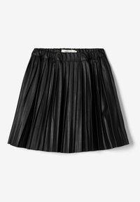 Name it - ROCK  - A-line skirt - black - 3