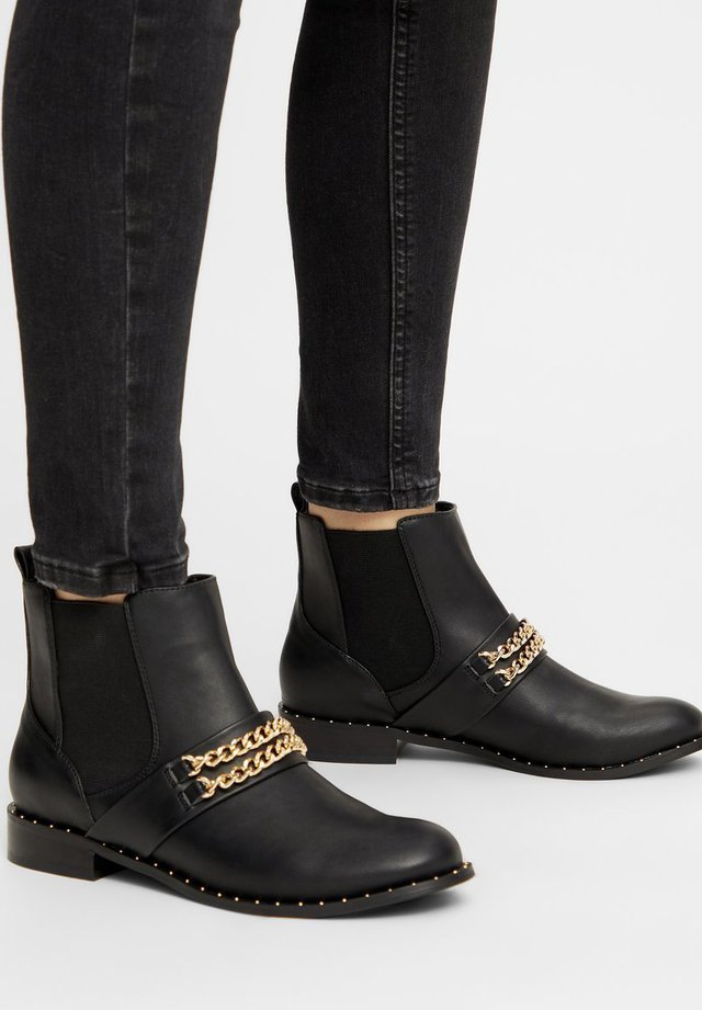 BIAELLA - Classic ankle boots - gold