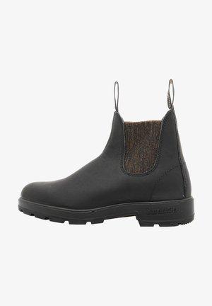 Ankle boot - black bronze glitter