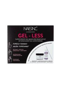 Nails Inc - AT HOME GEL REMOVAL - Nail set - 9793 neutral - 1
