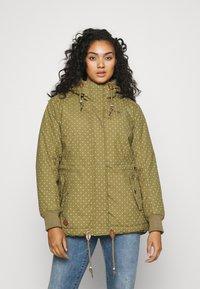 Ragwear Plus - DANKA - Winterjas - light olive - 0