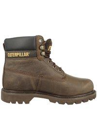 Cat Footwear - COLORADO - Šněrovací vysoké boty - chocolate - 5