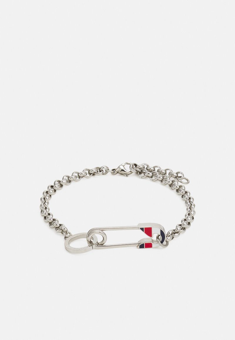 Tommy Hilfiger - ICONIC PIN - Bracelet - silver-coloured