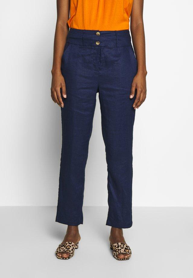 PETRONI - Pantalon classique - medieval blue