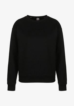 MODERN BASICS CREW - Sweatshirt - puma black