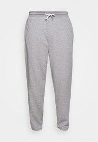 GANT - STRIPES PANTS - Tracksuit bottoms - grey melange - 4