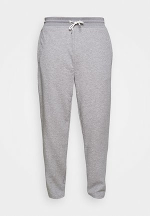 STRIPES PANTS - Pantaloni sportivi - grey melange