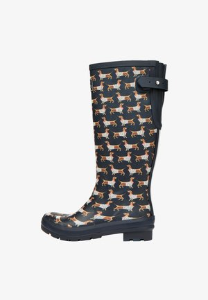 WELLY PRINT - Wellies - blau