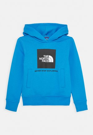 NEW BOX CREW HOODIE UNISEX - Jersey con capucha - clear lake blue