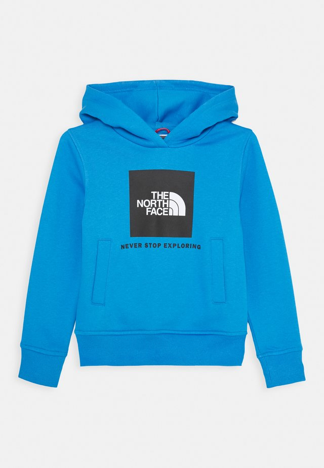 NEW BOX CREW HOODIE UNISEX - Felpa con cappuccio - clear lake blue