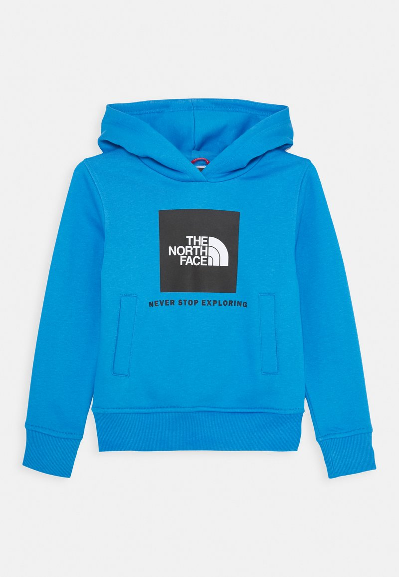 The North Face - NEW BOX CREW HOODIE UNISEX - Hoodie - clear lake blue
