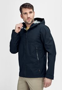 Mammut - CONVEY TOUR HOODED JACKET MEN - Veste Hardshell - marine - 0