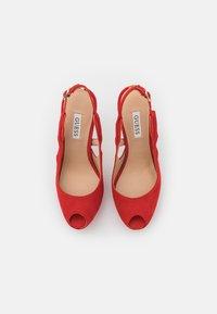 Guess - GINNIA - Platform heels - red - 5