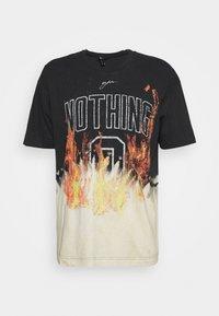 NOTHING BLEACH FLAME - Print T-shirt - multi