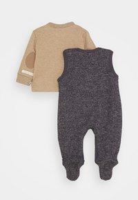 Jacky Baby - WILD WILD WEST SET - Dupačky na spaní - dunkelblau melange/braun melange - 1