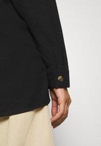 Noisy May - NMFLANNY LONG SHACKET - Skjorte - black - 3