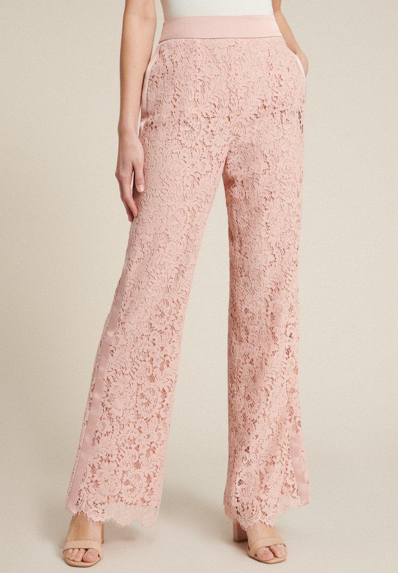 Luisa Spagnoli - Trousers - rosa/rosa