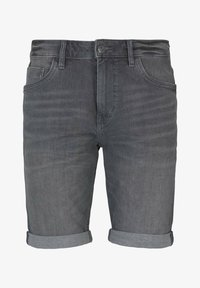 TOM TAILOR - Jeansshorts - clean mid stone grey denim - 5