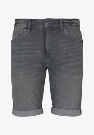Jeansshorts - clean mid stone grey denim