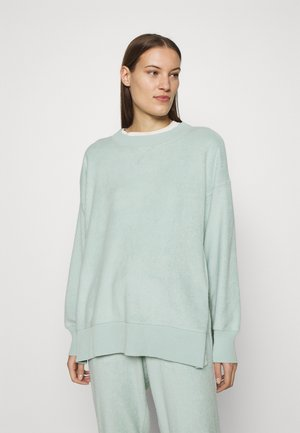 GARDEN CREW - Fleece jumper - dusty sage